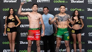 Official Weigh  ns  Combate Monterrey  2019