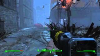Убийца Skyrim - Fallout 4, gameplay, gt 740m, настройка графики.