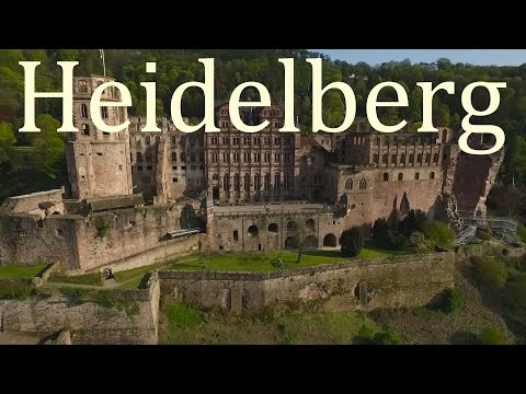 Tour of Heidelberg, Germany | Droneflight