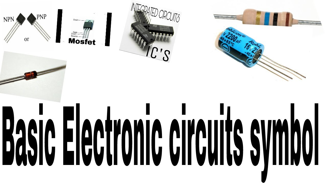 Basic electronic component & circuit symbol by Gourav electrical ...