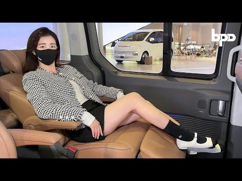 현대 스타리아 라운지 최초공개! 차가 아니라 원룸인데??? 카니발 잘가라...