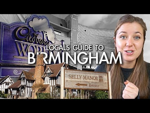 A LOCALS GUIDE TO BIRMINGHAM + HIDDEN GEMS! [AD]