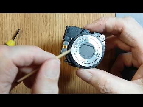 Разборка объектива Panasonic DMC LZ8
