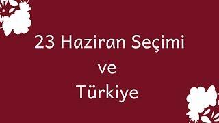 23 Haziran 2019 İstanbul Seçimi ve Türkiye (Astroloji, Burçlar)