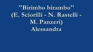 Birimbo birambo - Alessandra