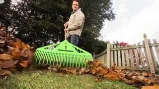 Ames Dual Tine Leaf Rake
