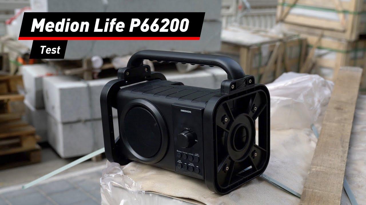Medion Life P66200: Aldi-Baustellenradio im Praxis-Test