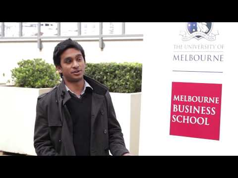 Why Melbourne Business School? Hesh Dantanaraya na