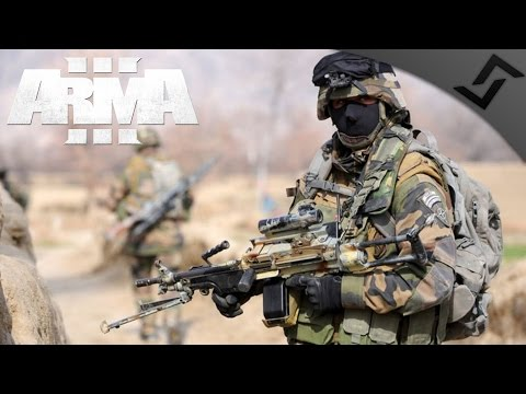 French Marine Infantry Night Assault & Defense - ARMA 3 Zeus Gameplay