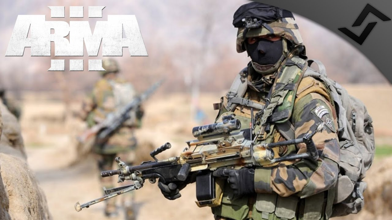 French Marine Infantry Night Assault & Defense - ARMA 3 Zeus Gameplay