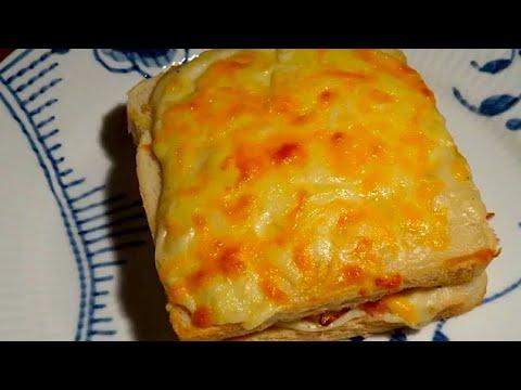 Croque Monsieur / Croque Madame - En sandwich med skinke, ost & béchamel - Opskrift #64