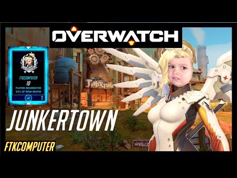 Re-worked Mercy 2.0 Takes on Junkertown!