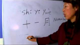 Chinese Symbols for November