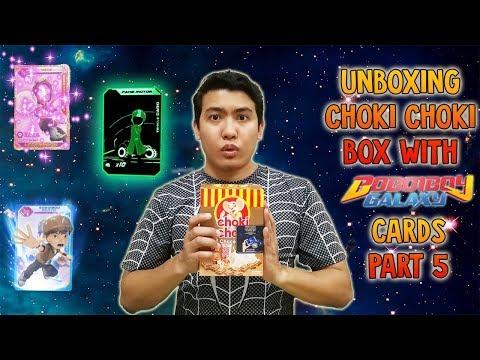 SPECIAL CARDS???!!! Unboxing Choki Choki Box Boboiboy Galaxy (AR) Cards ! Part 5