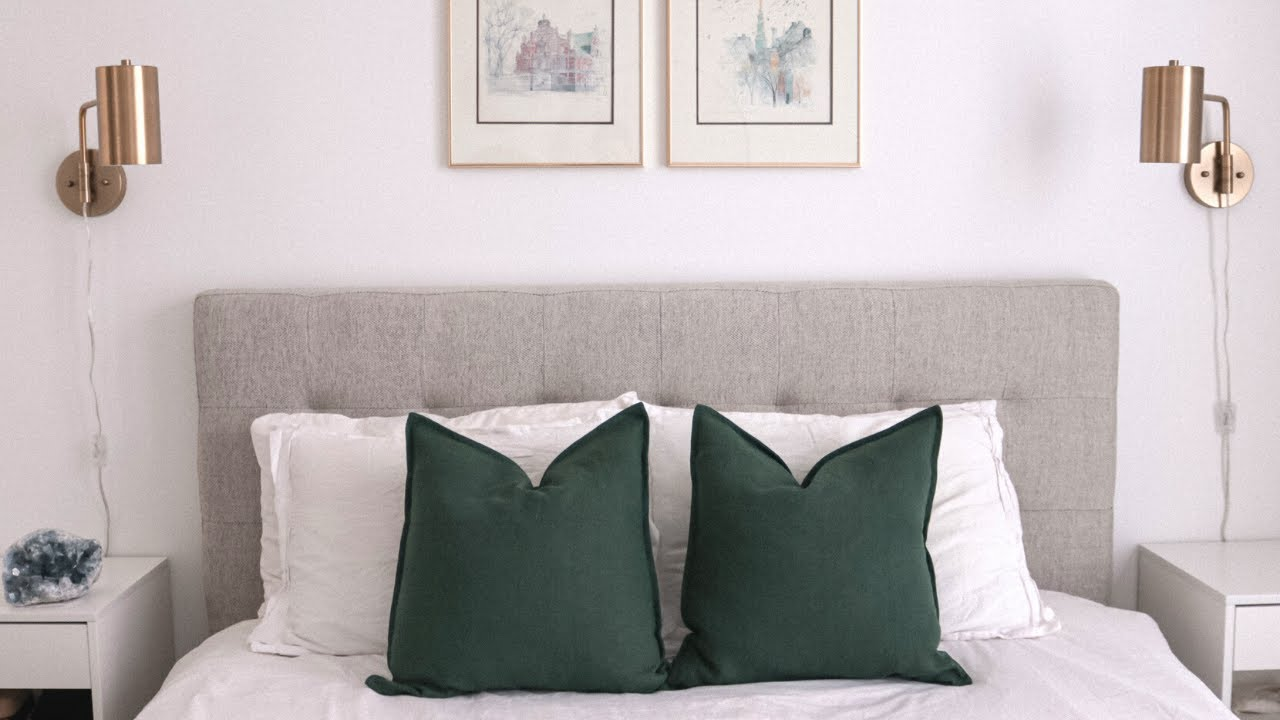 How To Make Diy Linen Throw Pillow Covers Emily Lightly