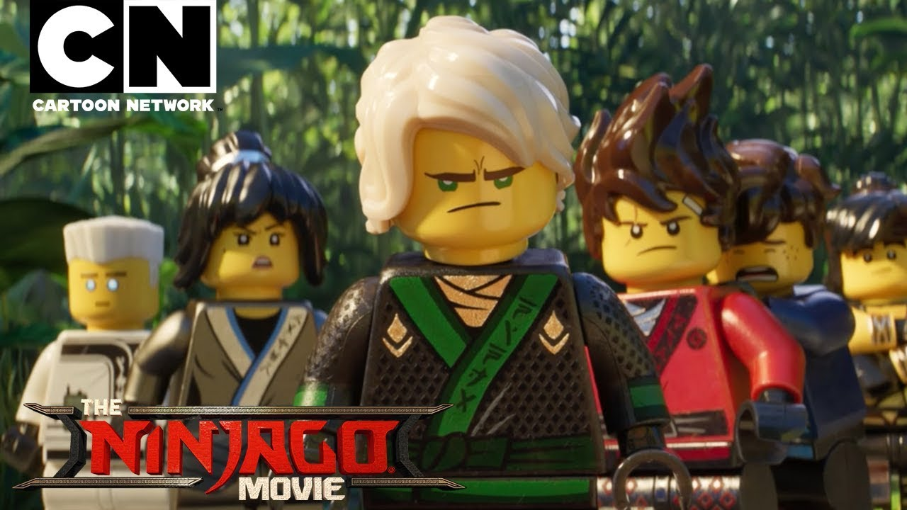 The Lego Ninjago Movie The Lego Ninjago Movie Meet The Cast Behind The Scenes Cartoon Network