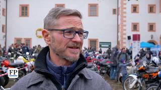49. Wintertreffen der Motorradfahrer auf Schloss Augustusburg