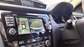 2014 All-New Nissan Qashqai Reverse Parallel Park Assist