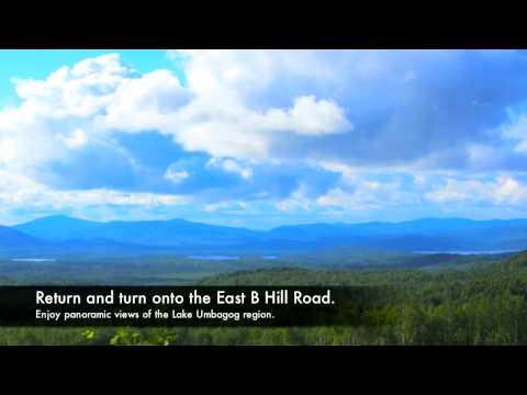 Bethel Maine Area Scenic Drive | Bethel, Maine - Grafton Notch - Upton - Andover