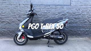 PGO T-Rex 50 Finns som både klass 1 och 2 moped.