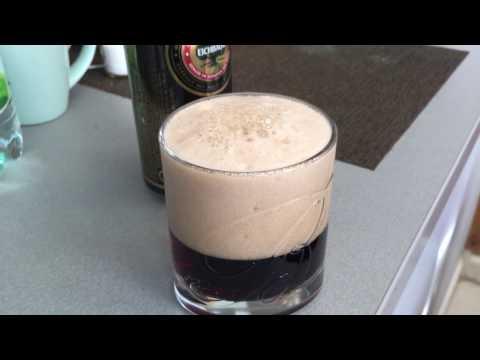 Как ПРАВИЛЬНО пить темное  ПИВО, красиво наливаем пиво и пьем