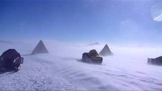 Katabatic winds in the Miller Range, Antarctica.