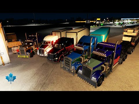 American Truck Simulator TruckersMP |Christmas Delivery Event |  PC Gameplay