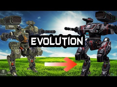The Evolution Of Old Robots In The Game | How They Evolved | War Robots