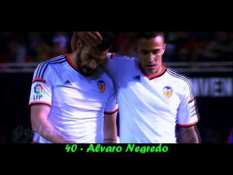 Valencia CF - TOP 100 Goals - 1996-2016