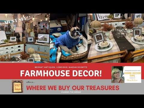 Farmhouse Style in an Old Mill!! LOVE!! Chasing the Dream