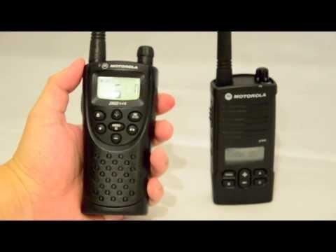 Motorola PMR446 radio XTN446 XTNi XTNiD review
