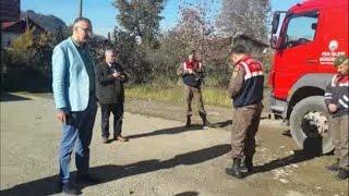 Jandarma Komutanı Giresun Bulancak Belediye Başkanıyla Tartıştı 1 Kısım