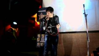 Alfredo Smorfa - Un Inverno Da Baciare - Marina Rei Cover - Eight Stars Live Tonninas 26-02-2014