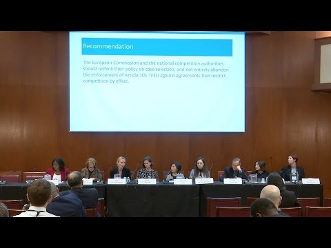 Antitrust Global Issues: 2018 Next Generation Antitrust Conference Session 3