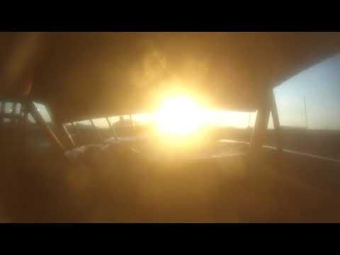 Hancock County Heat Race -Heath Tulp battle with Matt Ring #58