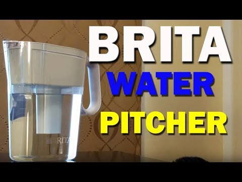 Brita Water Pitcher Filter Test