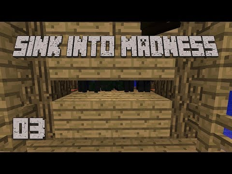 ►CLUTCH MOMENTS! | Sink Into Madness #3 | Modded Minecraft◄