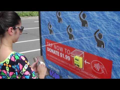 Interactive campaign for Surf Life Saving: Tap to be a life safer    JCDecaux Australia