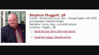 Calgary Cop Stephen Huggett, Charged Again With Child Porn