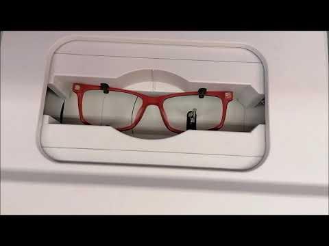 Sken brýlové obruby
