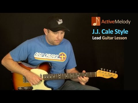 J.J. Cale Style Guitar Lesson – Simple Blues Guitar Lesson – EP103