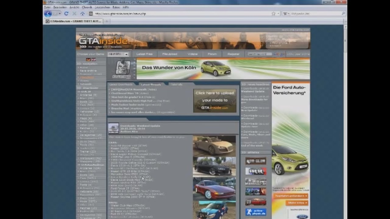 GTA IV: Installation of vehicle mods - GTAinside com