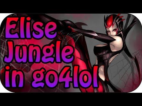 Turnier Spiel - Elise Jungle Full Gameplay - German Team go4lol