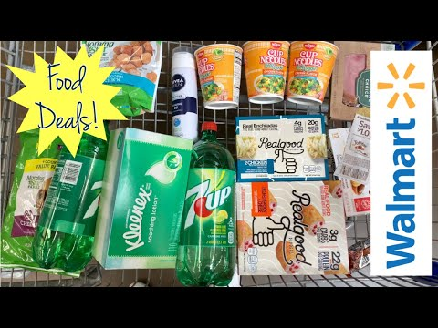 Walmart | Redeeming Rebates | 14 Items Under $15 | Food Deals!  Meek's Coupon Life
