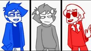 Repeat youtube video John and Dave: Respond to Memo (Extended Homestuck Animation)