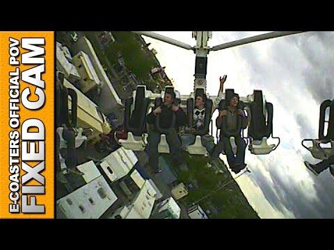 XXL Flat Ride POV On Ride KMG - Foire Stuttgart Oktoberfest (Fun Fair Germany)