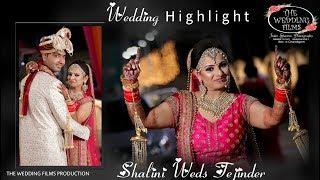 Wedding Highlight  I  Shalini  &  Tejinder  I  USA  Garden Ambala   I  Yuvraj Palace  Narayangarh
