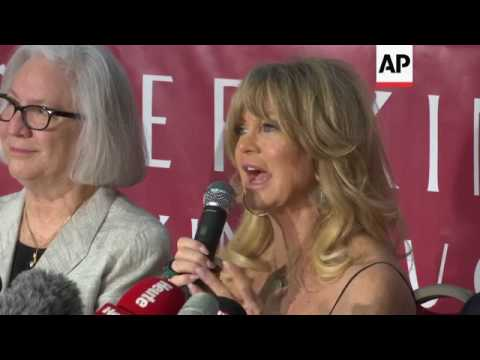 71 year old actress Goldie Hawn credits her Austrian and Hungarian genes for youthful looks