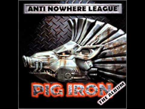 Anti Nowhere League - Landlord is a Wanker (rare Pig Iron version)