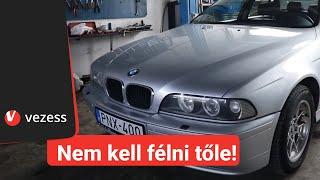 A használt BMW, ami 20 évesen is ajánlott vétel - BMW 5 Series (E39) | Vezess TV